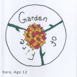Kara's fiery flower and vines were perfect for the final logo design!
