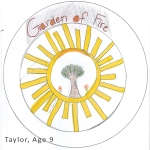 Taylor's beaming sun really inspired us and made it into the final logo design!