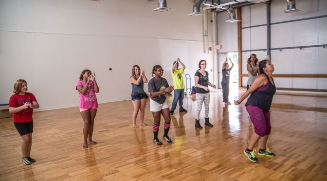 Experiencing Your Senses with Zumba